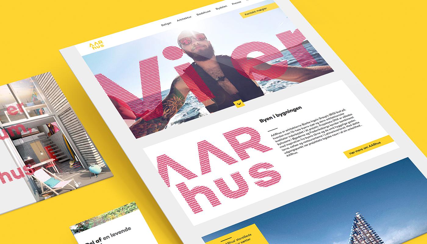 AARhus i Aarhus webdesign header image