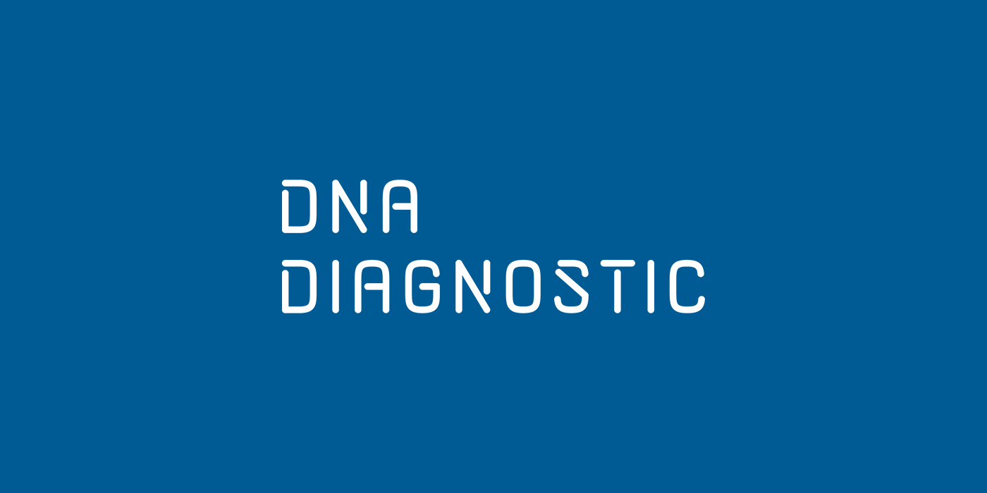 DNA Diagnostic white logo